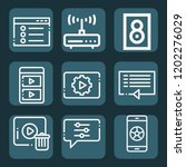 contains such icons as modem ...   Shutterstock .eps vector #1202276029
