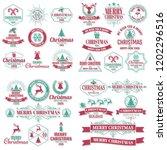 christmas background vector... | Shutterstock .eps vector #1202296516