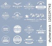 vintage retro vector logo for... | Shutterstock .eps vector #1202297743