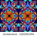 geometric seamless pattern....   Shutterstock .eps vector #1202301496