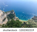 sea view from the montesolaro... | Shutterstock . vector #1202302219