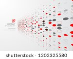 abstract technology perspective ... | Shutterstock .eps vector #1202325580