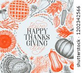 Happy Thanksgiving Day Design...