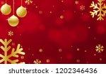 background for christmas or new ... | Shutterstock .eps vector #1202346436