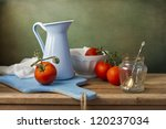 Still Life With Fresh Tomatoes...