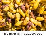 dates close up | Shutterstock . vector #1202397016