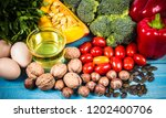 products containing a large... | Shutterstock . vector #1202400706