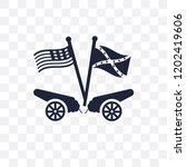 american civil war transparent... | Shutterstock .eps vector #1202419606