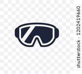 snow goggle transparent icon....   Shutterstock .eps vector #1202419660