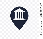 museum map transparent icon.... | Shutterstock .eps vector #1202428129