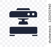 machine press transparent icon. ... | Shutterstock .eps vector #1202431960