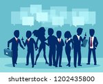 group of young businesspeople... | Shutterstock .eps vector #1202435800