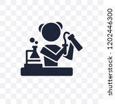 chemist transparent icon.... | Shutterstock .eps vector #1202446300