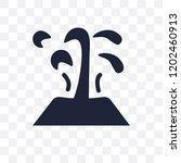 geyser transparent icon. geyser ...   Shutterstock .eps vector #1202460913