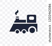locomotive transparent icon....   Shutterstock .eps vector #1202462086