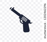 revolver transparent icon.... | Shutterstock .eps vector #1202462296