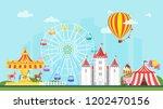 vector flat style illustration... | Shutterstock .eps vector #1202470156