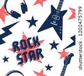 music seamless pattern. endless ... | Shutterstock .eps vector #1202475799