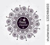 vector illustration on the... | Shutterstock .eps vector #1202486833