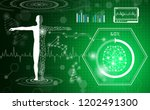 abstract background technology... | Shutterstock .eps vector #1202491300
