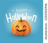 happy halloween vector cute... | Shutterstock .eps vector #1202502946