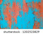 metal rust background   grunge... | Shutterstock . vector #1202523829