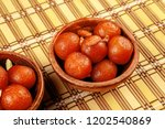 delicious traditional indian... | Shutterstock . vector #1202540869