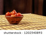delicious traditional indian... | Shutterstock . vector #1202540893
