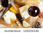 Red Wine And Assorted Cheese...