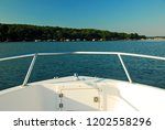 a boaters perspective of a calm ...   Shutterstock . vector #1202558296