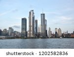 october 9  2018  manhattan  new ... | Shutterstock . vector #1202582836