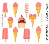 vector illustration for natural ... | Shutterstock .eps vector #1202597536