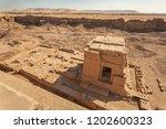 building in the courtyard of... | Shutterstock . vector #1202600323