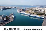 peiraias port  attica   greece  ... | Shutterstock . vector #1202612206