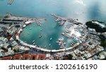 aerial drone bird's eye view...   Shutterstock . vector #1202616190