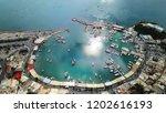 aerial drone bird's eye view...   Shutterstock . vector #1202616193