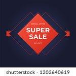 black friday sale banner....   Shutterstock .eps vector #1202640619