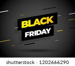black friday sale inscription... | Shutterstock .eps vector #1202666290