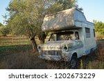 Old Scrap Caravan