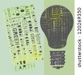 eco friendly green word design... | Shutterstock .eps vector #120269350