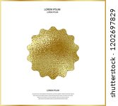 premium quality golden label... | Shutterstock .eps vector #1202697829