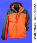 fashionable men's jacket | Shutterstock . vector #1202702056