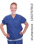 commercial health care woman   Shutterstock . vector #1202707813