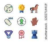 competition icon set. vector... | Shutterstock .eps vector #1202714419