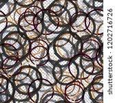 seamless pattern patchwork...   Shutterstock . vector #1202716726