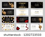 big collection set of luxury... | Shutterstock .eps vector #1202723533