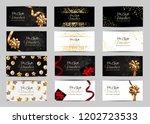 big collection set of luxury...   Shutterstock .eps vector #1202723533