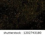gold glitter texture isolated... | Shutterstock . vector #1202743180