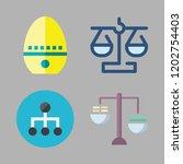 precision icon set. vector set... | Shutterstock .eps vector #1202754403