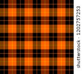 halloween tartan plaid.... | Shutterstock .eps vector #1202757253